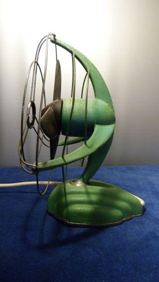 Vtg.  Libelle Tisch Ventilator Art Deco Streamline Design Windmaschine 50er Jahre Bild
