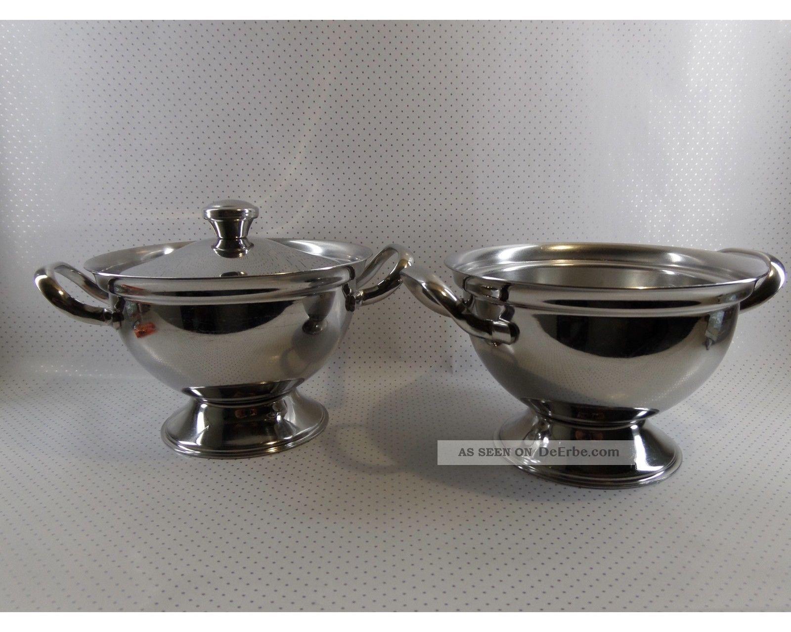Zwei Alessi Saucieren Echte Designklassiker Top Erhalten Design 1964 Sehr Selten 1960-1969 Bild