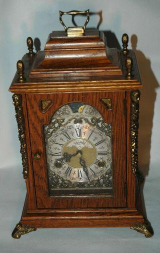 Warmink Wuba,  Tischuhren,  Sammleruhren,  Antik,  Mondphasenuhr,  Bracket Clock Bild