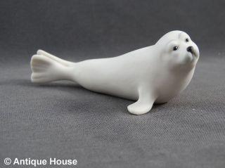 Hutschenreuther Tiierfigur Porzellanfigur Seehund Robbe Bild