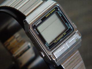 Casio - Db - 500 Databank - Armbanduhr Telememo 50 Qw.  262 Japan AÑo.  1984 Ungeprüft Bild