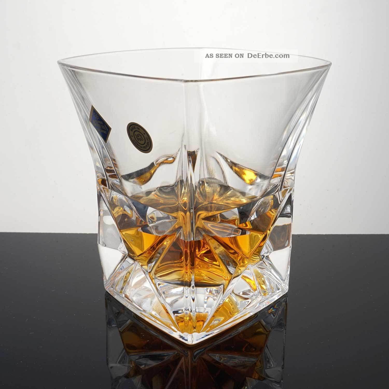 Whiskyglas Pyramid Kristallglas Bleikristall 24 Pbo 1 X 280 Ml Kristall Bild
