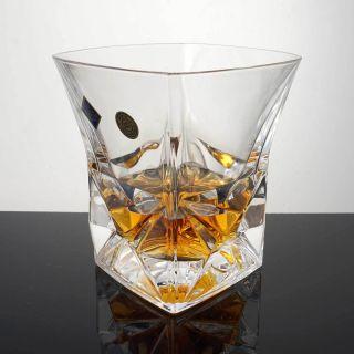 Whiskyglas Pyramid Kristallglas Bleikristall 24 Pbo 1 X 280 Ml Bild