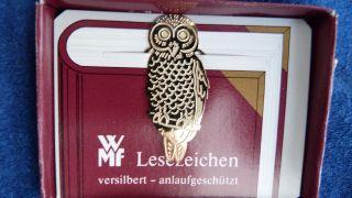 Vintage Wmf Lesezeichen / Bookmark - Versilbert - Unbenutzt In Ovp Bild