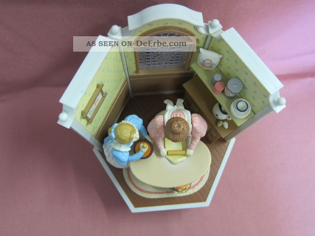Enesco Spieluhr Backstube Bäckerei 1985 Au Claire De La Lune Neuwertig Rar 10542 Mechanische Musik Bild