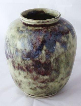 Wmf Ochsenblut Keramik Vase Art Déco Entwurf Gerda Conitz Konitz Bild