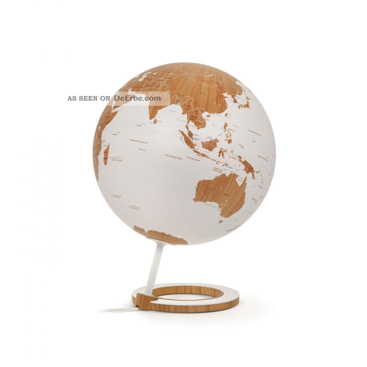 Atmosphere 25cm Design - Leuchtglobus Globus Bamboo Designglobus Globe Earth Wissenschaftliche Instrumente Bild
