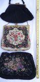 3 Herrliche Alte Abendtaschen Handtaschen Damen Taschen Vor 1950 1920-1949, Art Déco Bild 7