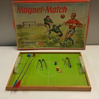 Ages Fußballspiel Magnet Match 1960er Jahre Ddr Mit Ovp Altes Spiel Bild
