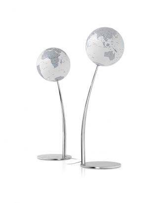 Designglobus Standglobus Leuchtglobus Atmosphere Globus Stem Reflection Globe Bild