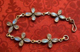 Schönes Damenarmband Mit Steinen Silber 925 Bild
