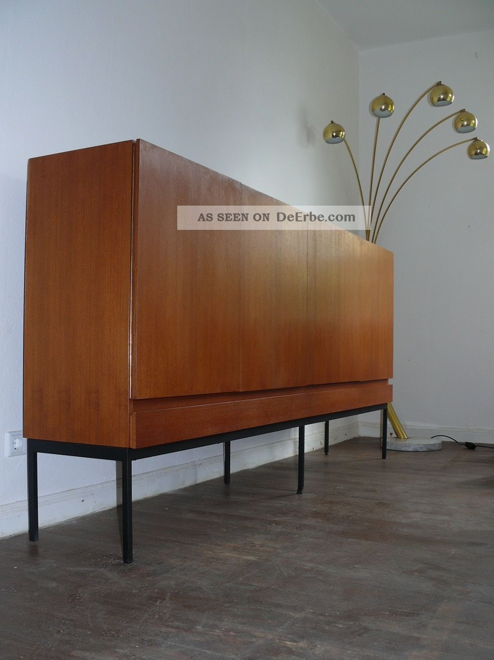 Minimalismus Behr International Sideboard B60 Dieter Waeckerlin Teak 1960er 1950-1959 Bild