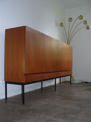 Minimalismus Behr International Sideboard B60 Dieter Waeckerlin Teak 1960er Bild