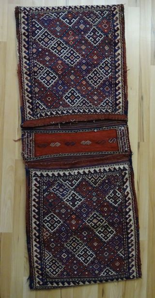 Echt Orient Teppich Persien Satteltasche Zertifikat Veit Ellwangen Bild