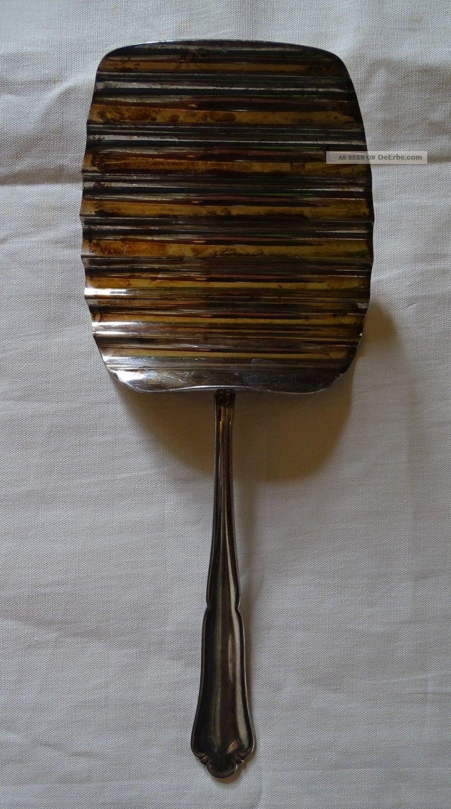 Bruckmann Spargelheber 90er Versilbertes Besteck 22,  5 Cm Objekte ab 1945 Bild