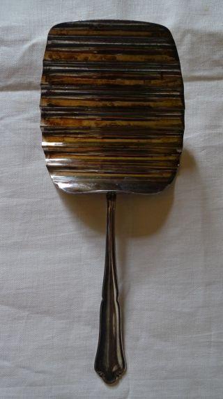 Bruckmann Spargelheber 90er Versilbertes Besteck 22,  5 Cm Bild