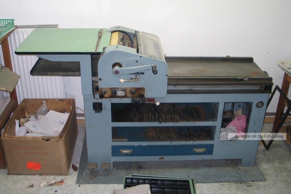 Druckpresse Andruckpresse Korrex Bj.  69,  Künstlerpresse Buchdrucker & Buchbinder Bild