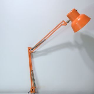Sis Type 500 Gelenk - Lampe Orange Arbeitsleuchte Pop Design Bild
