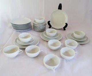 Hutschenreuther 1814 Ann Marie Kaffee Und Tee Service Resteservice Weiß Bild