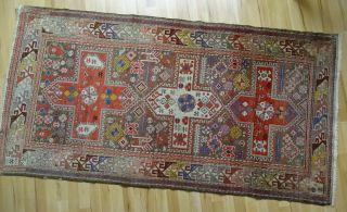 Zentral Anatolischer Orient Teppich 206x105 Geknüpft Bild