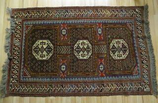Zentral Anatolischer Orient Teppich Türkei 1900 - 1925 120x180 Geknüpft Bild