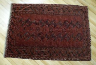 Afghanistan Orient Teppich Zwischen 1900 Und 1925 Geknüpft Pendeh Bild