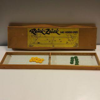 Ages Ruck Zuck Diskus Spiel Ddr 1950er Jahre Mit Ovp D.  B.  G.  M Alt Bild