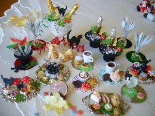 =glÜcksmarzipan Neujahr Silvester= Bäckerei Konditorei Kaufladen 1:12 By Hw Bild