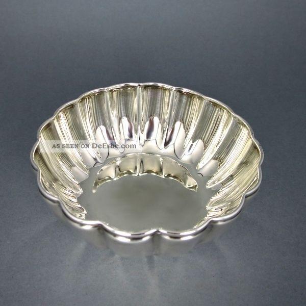 Silberschale Gerippt/ribbed Silver Bowl Objekte vor 1945 Bild