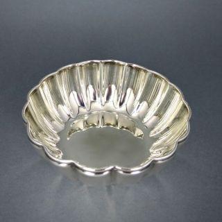 Silberschale Gerippt/ribbed Silver Bowl Bild