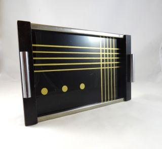 Avantgarde Suprematismus Bauhaus Tablett Geometrisch Art Deco Modernist Tray Bild