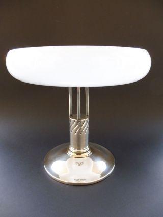 Jugendstil Design Tafelaufsatz Ch Marke Art Nouveau Jardiniere Opalglas Bild