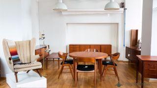60er Danish Design Gunni Omann Schreibtisch Teak Mid Century Modern Writing Desk Bild