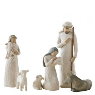 Willow Tree Nativity Krippenfiguren Jesu Geburt 26005 Weihnachten Bild