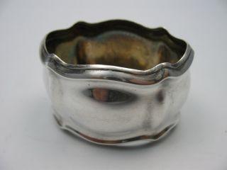 Klasse Alter Serviettenring FÜr Stoffservietten Aus 800 Silber Bild