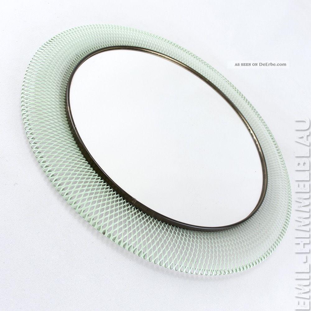 Runder Draht Spiegel Mirror 50er 60er Wandspiegel Rockabilly Mategot Style 1950-1959 Bild