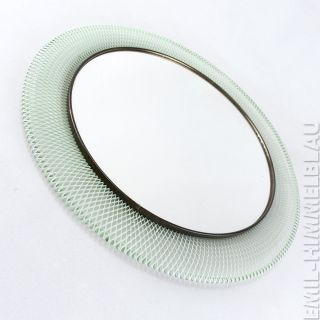 Runder Draht Spiegel Mirror 50er 60er Wandspiegel Rockabilly Mategot Style Bild