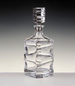 Bohemia 24 Pbo Bleikristall,  Serie Sail,  Whisky Karaffe 0,  8 L. ,  & Ovp Bild