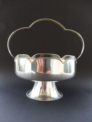 Wmf Jugendstil Jardiniere Wiener Stil Perlrand Art Nouveau Vergoldet Gilt Glas Bild