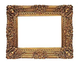 Barockrahmen 60 X 50 Cm Gemälde Prunkrahmen Gold Bilderrahmen Mit Aufhänger Bild