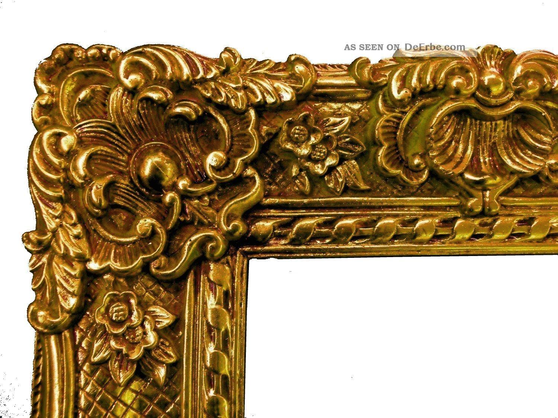 Barockrahmen 60 X 50 Cm Gemälde Prunkrahmen Gold Bilderrahmen Mit ...