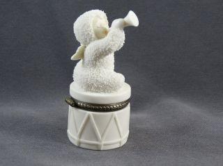 Goebel Snowbabies Dose Kleine Sammeldose Mit Engelchen D56 Bild