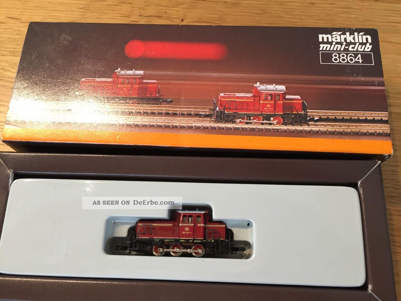 Märklin Spur Z 8864 Dieseltriebwagen Eisenbahn Bild