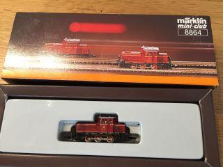 Märklin Spur Z 8864 Dieseltriebwagen Bild