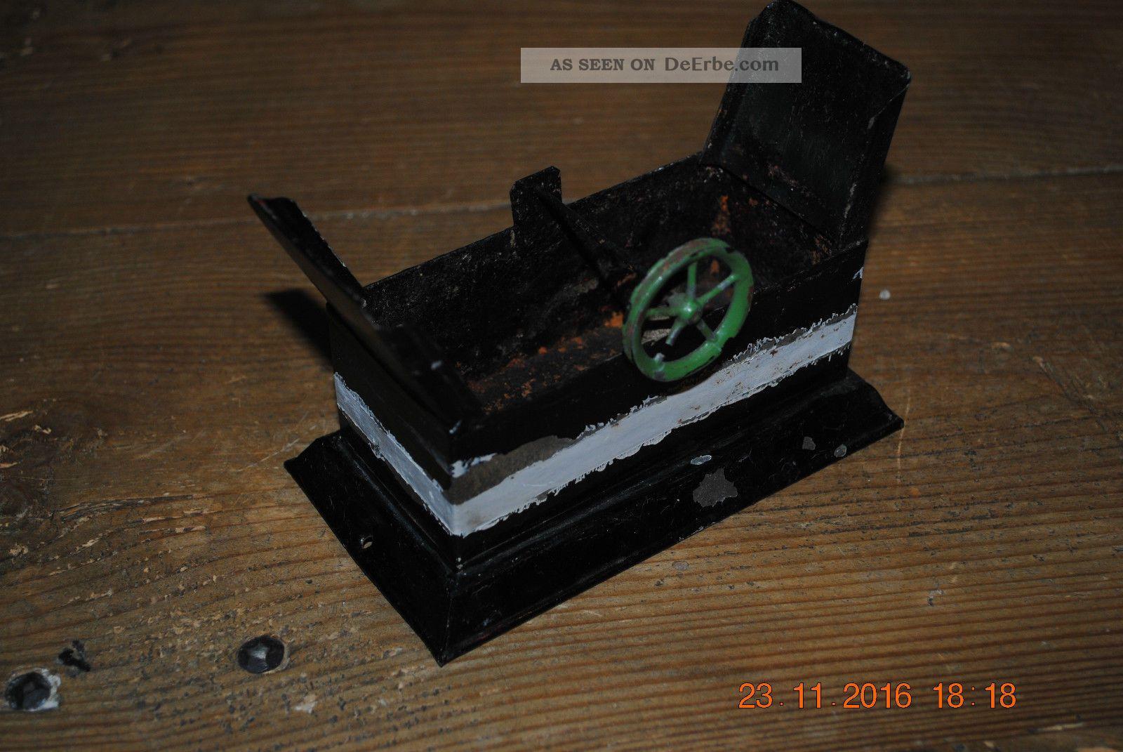 Altes Wasserwerk/ - Schöpfer Für Dampfmaschine Antriebsmodell Märklin Fleischmann Gefertigt nach 1945 Bild