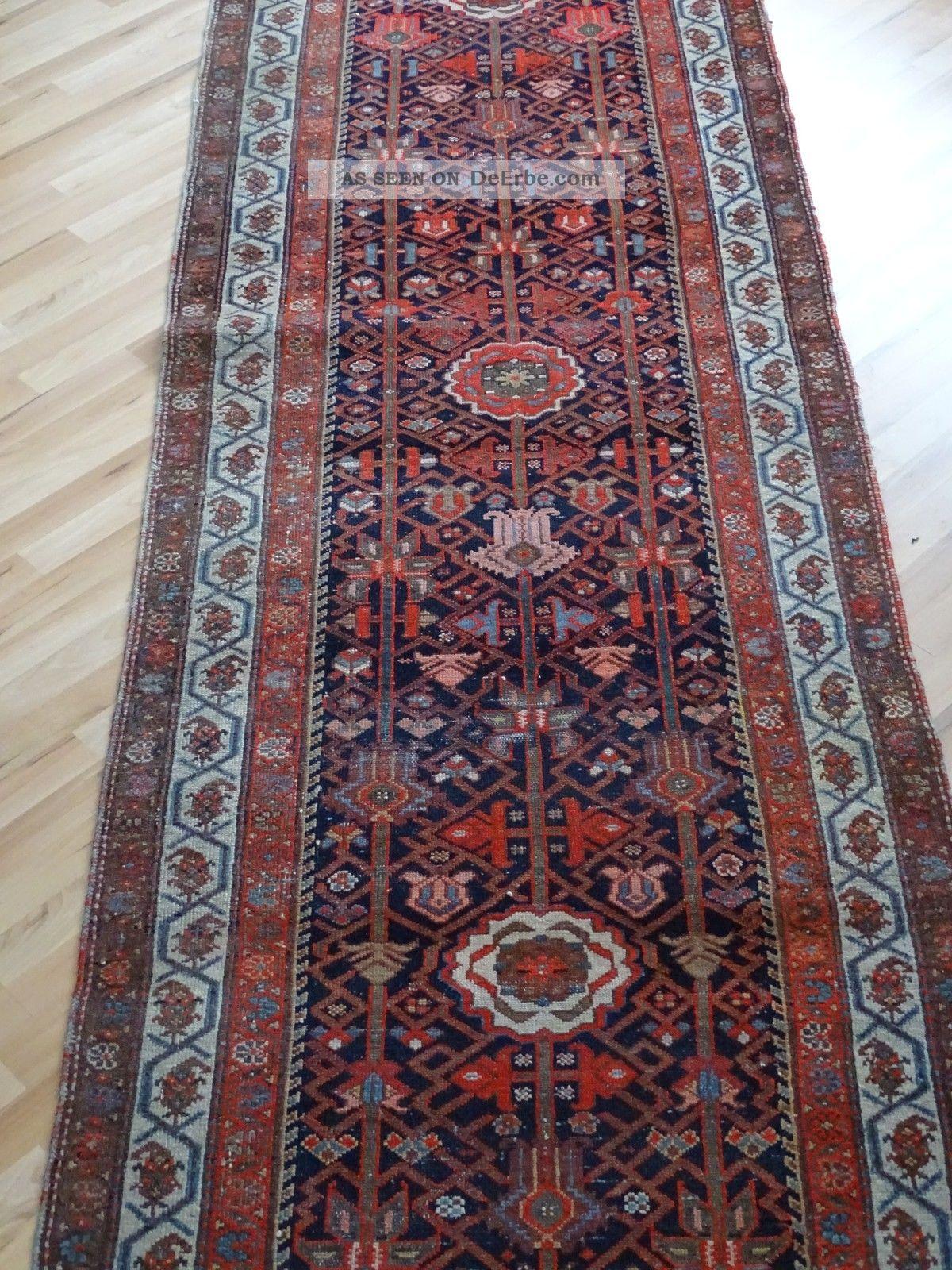 Schöner Riesiger Teppich Läufer Ca.  510 X 103 Cm Orientalisch Verziert Teppiche & Flachgewebe Bild
