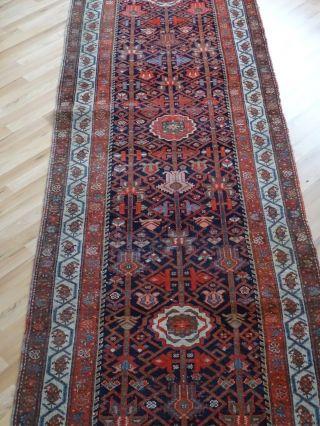 Schöner Riesiger Teppich Läufer Ca.  510 X 103 Cm Orientalisch Verziert Bild