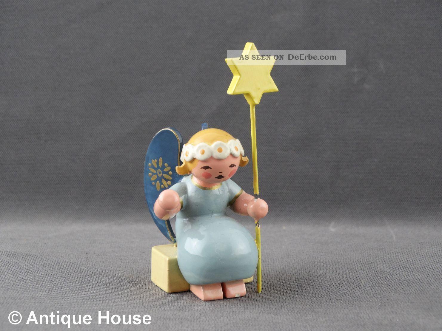 Wendt & Kühn Alter Engel Wiegenengel Mit Stern Ovales Logo Um 1946 Antike Originale vor 1945 Bild
