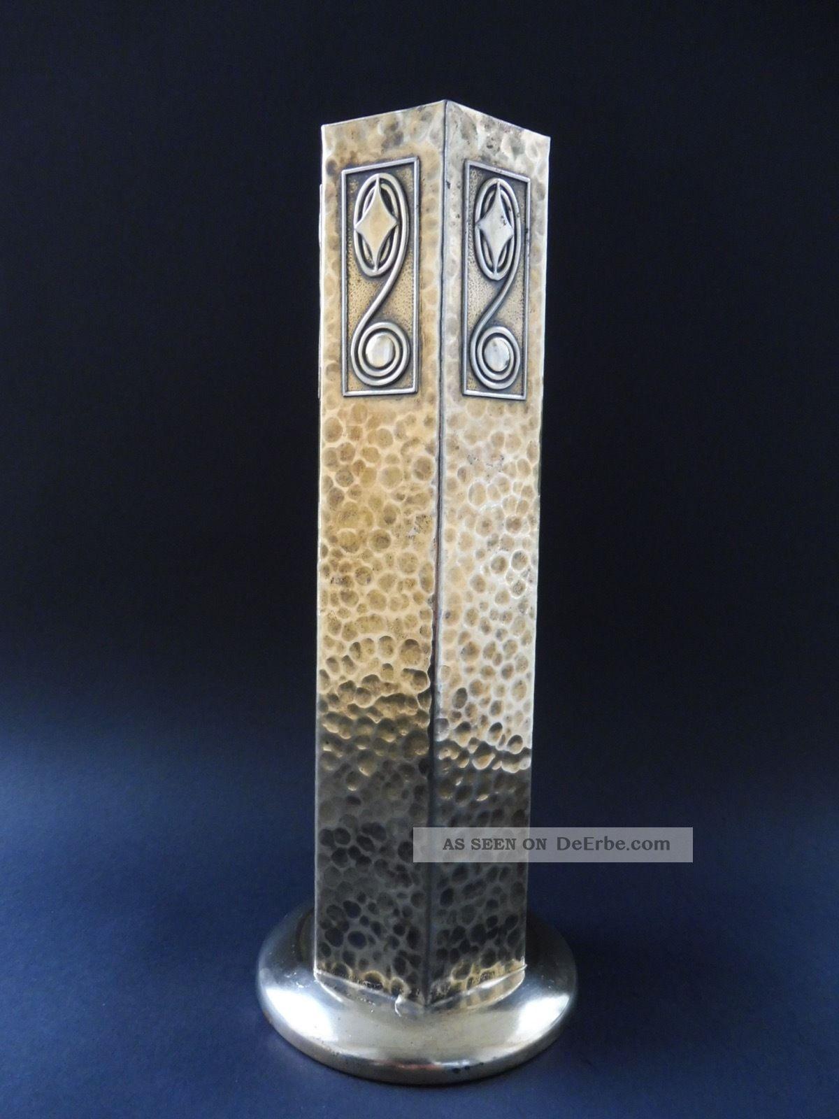 :: Secessionist Wien Jugendstil Design Vase Art Nouveau Schule Wiener WerkstÄtte 1890-1919, Jugendstil Bild