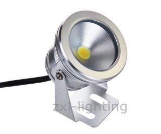 10w Led Bodenstrahler Garten Leuchte Lampe Wasserdicht Ip65 Warmweiß 12v Dc Bild